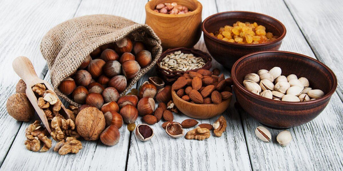 orzechy i ziarna w diecie kobiety ciężarnej