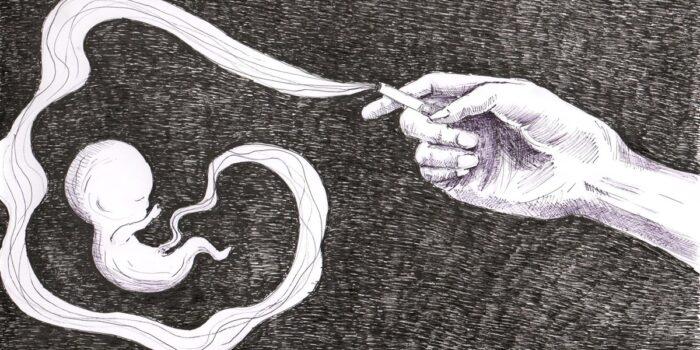 Wpływ papierosów na płód