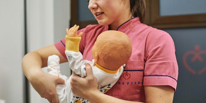 Przyjazna pielęgnacja niemowlaka - indywidualne zajęcia dla przyszłych rodziców